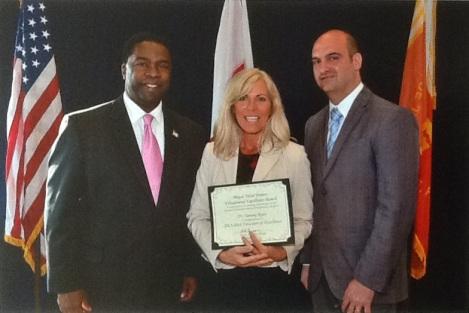 Award photo